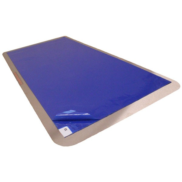 Tacky Mats Efficiently Reduce Cleanroom Entry