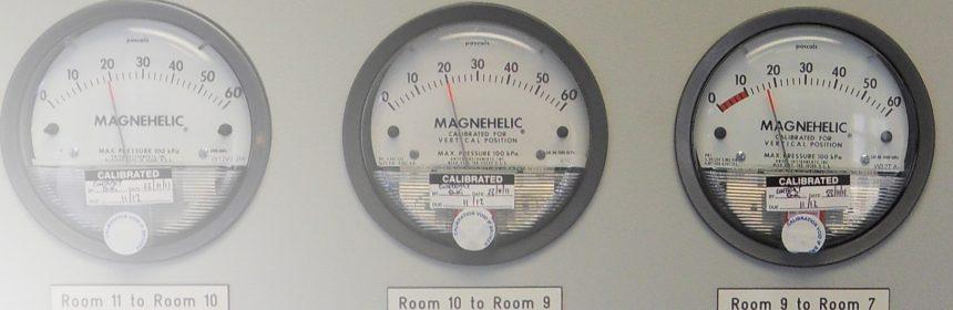 Magnahelic Guage Panel
