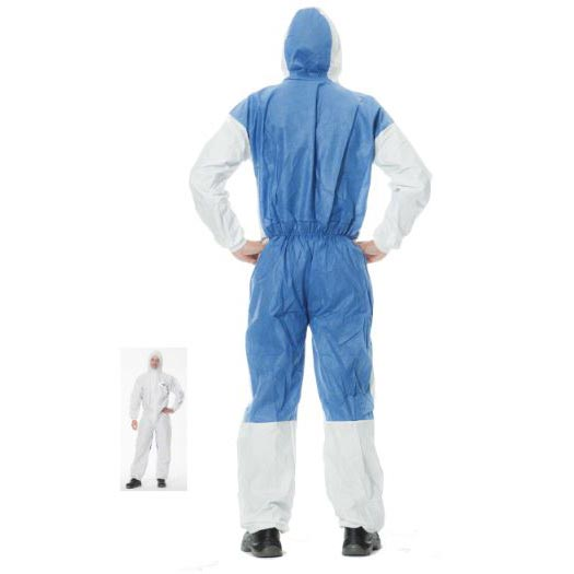 CHEMSPLASH Type 5 & 6 Microporous Disposable Coveralls