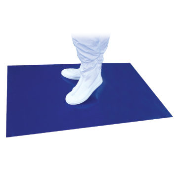 Tacky Mats 30 Layer Cleanroom Entry Mats In Blue