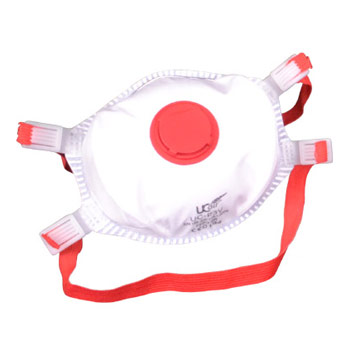 FFP3 High Efficiency Valved Disposable Dust Masks