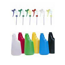 Plastic, Multi-Colour Coded 600ml Trigger Spray Bottles