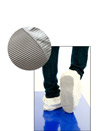 Anti-Slip Sole Disposable White Overshoes/Shoe Covers