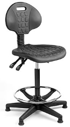 Cleanroom & Laboratory PU Chair from Cleanroom Supplies