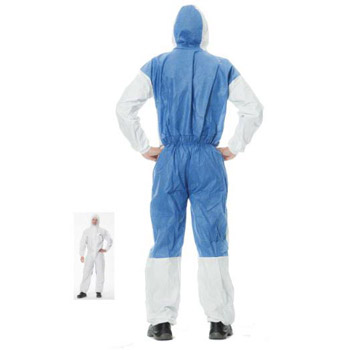 Chemsplash Type 5 Amp 6 Microporous Disposable Coveralls