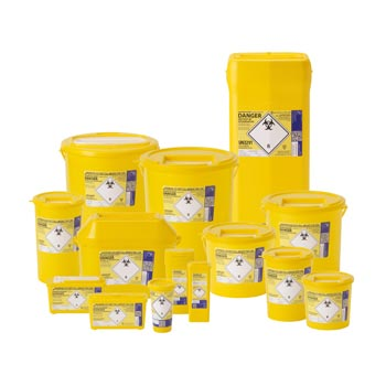 Clinical Waste Bins - For Sharps and Hazardous Waste