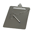 304 Stainless Steel Clipboard With Stainless Steel Clip