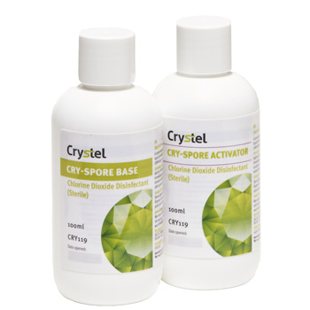 CRYSTEL Cryspore Concentrate - Sterile Disinfectant