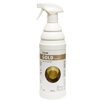 CRYSTEL GOLD Sterile 70% IPA Surface Disinfectant Spray