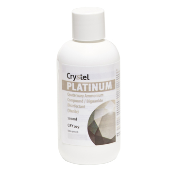 CRYSTEL Platinum Concentrate - Sterile Surface Disinfectant