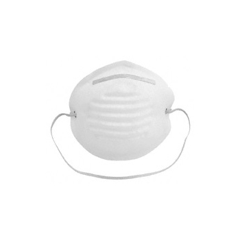 Disposable Nuisance Dust Cup Mask - 50 per Case