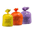 Clinical Waste Sacks & Colour Coded Roll of Waste Bags