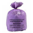 Cytotoxic Waste Sacks & PURPLE Coded Roll of Waste Bags