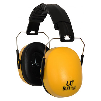 Deluxe Folding Ear Defenders - Adjustable Padded Heaband