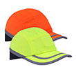 High Visibility Safety Bump Cap - Yellow or Orange