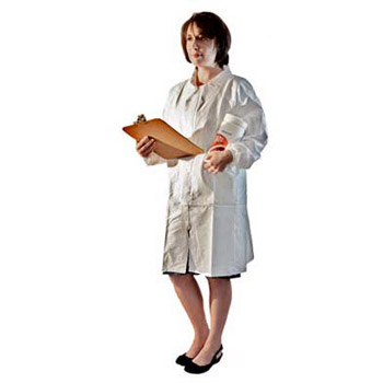Disposable Laboratory Coats for Cleanrooms and Labs