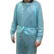 Long Plastic Aprons - Disposable Gowns With Thumb Loops