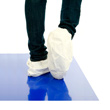 Disposable Microporous Overshoes - White Shoe Covers