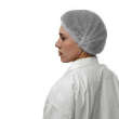 Disposable Mob Caps Hairnet Covering - Metal Detectable