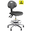 Cleanroom Chair ESD with Polyurethane Ergonomic Design