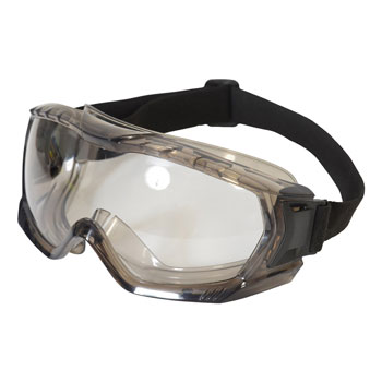 Sealed Safety Goggles - Anti-Fog and Scratch Resistant