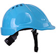 Short peak safety helmet with wheel ratchet - 3 colours