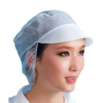 Peaked Snood Caps for  Medical  & Food Industry Use