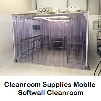 Mobile Softwall ISO14644 Cleanroom Sampling Booth