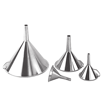 Grade 304 Stainless Steel Funnel For Use In Cleanrooms