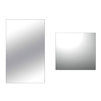 Cleanroom Mirrors - Shatterproof Stainless Steel