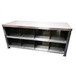 Stepover Bench for Cleanroom Change - With Storage