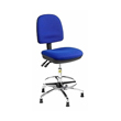 Cleanroom & Laboratory Chair with Anti-Bacterial Vinyl