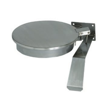 Stainless Steel Wall Mounted Knee Operated Bag Holder